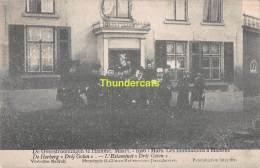 CPA DE OVERSTROOMINGEN TE HAMME MAART 1906 LES INONDATIONS A HAMME DE HERBERG DRIJ GROTEN - Hamme