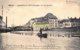 CPA MENEN MENIN INONDATION DE 1894 DEUXIEME VUE DES BASSINS - Menen