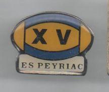 PINS PIN´S RUGBY ES PEYRIAC - Rugby