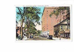 Cpa - Maine Portland - Eastland Hotel - 105 - Voiture - Portland