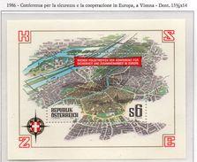 PIA - AUSTRIA - 1986 : Conferenza A Vienna Per La Sicurezza E La Cooperazione In Europa -    (Yv  Bf 13) - 1981-90 Unused Stamps