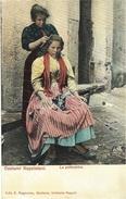 Costumi Napoletoni - La Pettinatrice -ed. E. Ragozino - Napoli