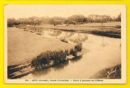 ARES Parc à Poissons Au Chateau (Marcel Delboy) Gironde (33) - Arès