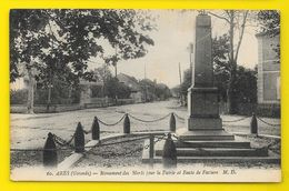 ARES Monument Aux Morts Route De Facture (Marcel Delboy) Gironde (33) - Arès