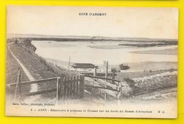 ARES Réservoirs à Poissons Et Ecluses (Marcel Delboy) Gironde (33) - Arès