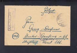 Dt. Reich Feldpost Arbeitskommando 1091 Waldenburg Württemberg - Briefe U. Dokumente