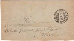 PIEVE TESINO TRENTO Per VENEZIA (MECCANICO) - 10.9.1923 - Busta 50c. (10c. X 2 + 15c. X 2) Leoni 3/106 - Storia Postale