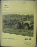Schrijfboek Cahier De Classe Cobelaz - Tractor Massey-Ferguson - Protège-cahiers