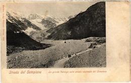 CPA Strada Del Sempione, La Grande Valanga . ITALY (540185) - Italia