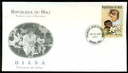 Mali 1997 FDC Diana Princess De Galles - Mali (1959-...)