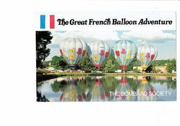 Cpm - Montgolfières, The Great French Balloon Adventure - The Bombard Society LOS ANGELES - Fesselballons