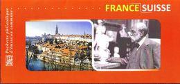 FRANCE 2009 -  Pochette émission Commune France - Suisse. René De Saint-Marceaux. - Emissions Communes