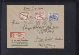 Dt. Reich R-Brief 1936 Olympia Stadion Presse(2) - Germany