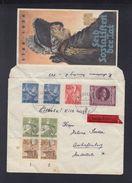 Dt. Reich Expresbrief 1943 Nürnberg Nach Aschaffenburg - Briefe U. Dokumente