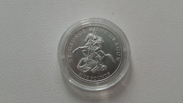 Jersey 5 Pounds 2008 Silver St. George And The Dragon - Jersey
