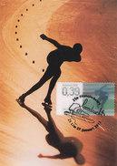 D31484 CARTE MAXIMUM CARD RR 2013 NETHERLANDS - SPEED SKATING ARD SCHENK OLYMPICS - LENTICULAIR STAMP CP ORIGINAL - Winter (Other)