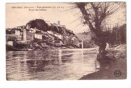 43 Chilhac Vue Générale Pont Sur L' Allier - Autres Communes