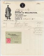 London, Fattura Commerciale 1911 - Regno Unito