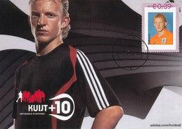 D31488 CARTE MAXIMUM CARD FD 2006 NETHERLANDS - SOCCER DUTCH DIRK KUIJT - NATIONAL TEAM CP ORIGINAL - Famous Clubs