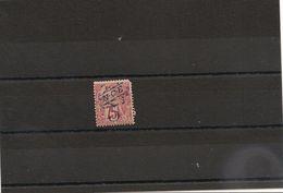 NOUVELLE CALEDONIE Années 1892/93 N°Y/T : 38*   Côte :23,00 € - Unused Stamps