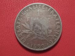 1 Franc Semeuse 1899 5994 - H. 1 Franc