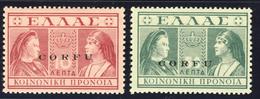 Due Valori Della Serie - Nuovi MNH** - Korfu