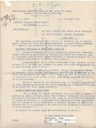 Associazione Nazionale Famiglie Dei Caduti In Guerra. Comitato Prov. Avellino Rimpatrio Salme Caduti All'estero. - Documenti