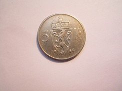 ----1--PIÈCE DE 5 Krone 1964  Norvège---TB+++ - Norvège