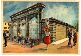 CPSM Illustrateur Homualk En Parcourant La Gascogne Fontaine Chaude Source De La Nèhe - Homualk