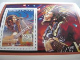 Chad-1996-famous People-Bob Marley-MI.1285A - Chad (1960-...)