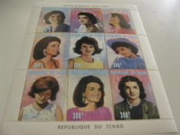 Chad-1996-famous People-Jacqueline Kennedy-MI.1334-42 - Chad (1960-...)