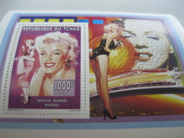 Chad-1996-famous People-Marilyn Monroe-MI.1276A - Chad (1960-...)