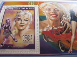 Chad-1996-famous People-Marilyn Monroe-MI.1277A - Chad (1960-...)