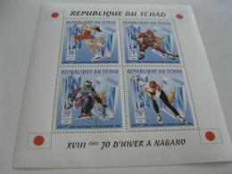 Chad-1996-winter Olympic Nagano98-klb-MI.1413-16 - Chad (1960-...)