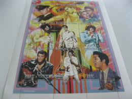 Chad-1997-famous People-music Elvis Presley-MI.1564-72 - Chad (1960-...)