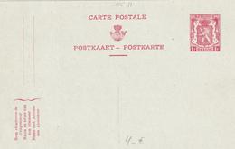 Entier Postal N° 115 II - 1F Rouge Sur Bleu - Etat Neuf! - Postwaardestukken