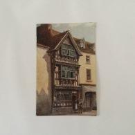 STRATFORD ON AVON  1950s 'Harvard House Colour Painting ByWW Quatremain Unused - Stratford Upon Avon