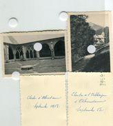 Chapelle D' ABONDANCE Eglise Clocher Cloitre Rare  50 1952 Scan Dos Haute Savoie 74 Vers Thonon 4 Photos - Plaatsen