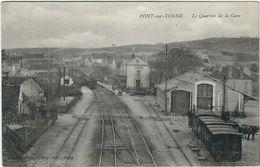 Yonne : Pont Sur Yonne, Le Quartier De La Gare - Pont Sur Yonne