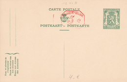 Entier Postal N° 112 II (trilingue)  - 35c Vert Sur Crème - M1 +5c (P010) -  Etat Neuf! - Postwaardestukken