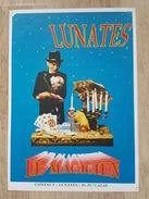 Affiche - Lunates - Magie - Le Magicien - Jeu De Cartes - Posters