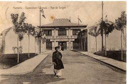 MARSEILLE - EXPOSITION COLONIALE - RUE DE SAIGON - Expositions Coloniales 1906 - 1922