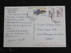 PORTUGAL YT 1411 Et 1690 CHARRETE CAMION DOURO - BOM JESUS BRAGA FACADE DU SANCTUAIRE - 1910-... République