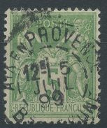 Lot N°37152  N°106, Oblit Cachet à Date De AIX En PROVENCE (Bouches-du-Rhone) - 1876-1898 Sage (Type II)