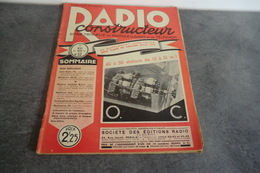 Revue Radio Construction N°32 - 1 Mai 1939 - Page Du Milieu Se Détache - - Components