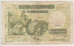 Belgium 50 Francs (18.11.1944) Pick 106 AFine - [ 2] 1831-... : Regno Del Belgio
