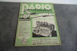 Revue Radio Construction N°25 - 1 Octobre 1938 - - Components