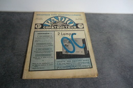 Revue Radio Construction N°11 - 10 Août 1937 - - Components