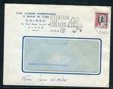 Algérie - Surcharge Locale De Alger Sur Enveloppe Commerciale Pour La France En 1962 - Ref S82 - Algérie (1962-...)