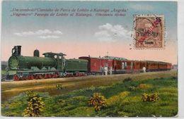 CPA Angola Afrique Train  Circulé - Angola